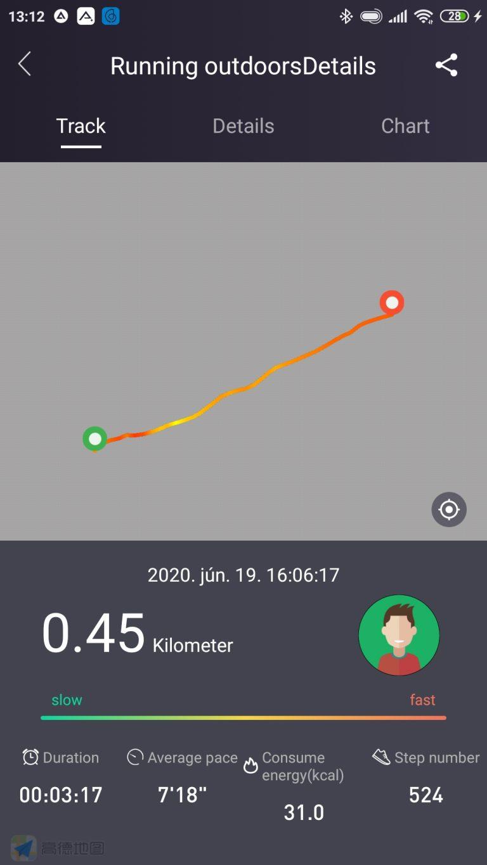 Xiaomi Haylou Solar aktivitásmérő teszt 14