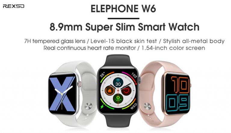 Elephone W6 és Blackview X1 aktivitásmérők – Divatba jönnek 5
