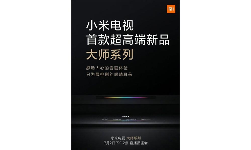 Érkezik a csúcskategóriás Xiaomi Master TV 2