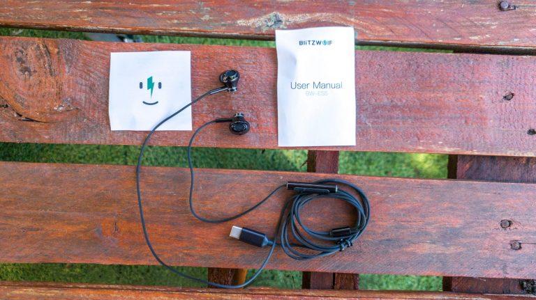 Blitzwolf BW-ES5 vezetékes fülhallgató teszt 3
