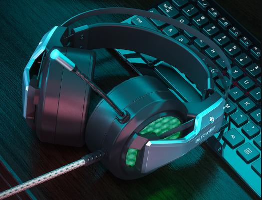 Blitzwolf BW-GH1 gamer fejhallgató teszt 9