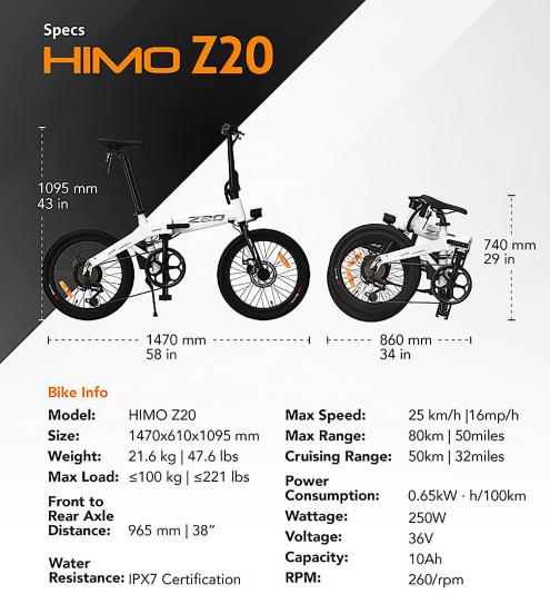 Kapható a HIMO legújabb elektromos bringája 8