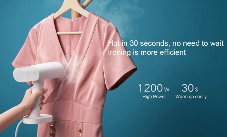 Jó áron kapható a Xiaomi ruhagőzölője 5