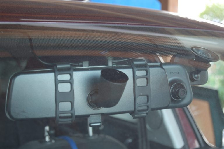 70mai D07 Rearview Dash Cam autóskamera teszt 3