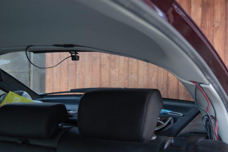 70mai D07 Rearview Dash Cam autóskamera teszt 5