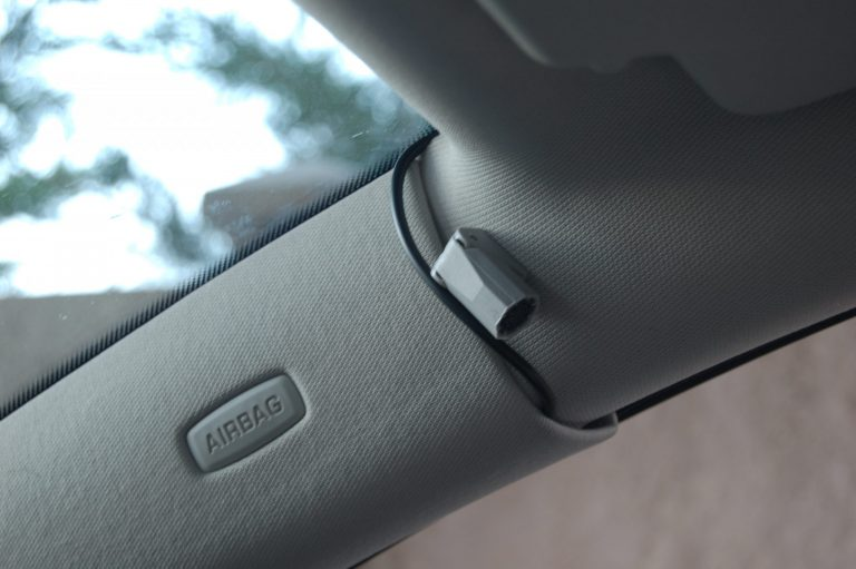 70mai D07 Rearview Dash Cam autóskamera teszt 6