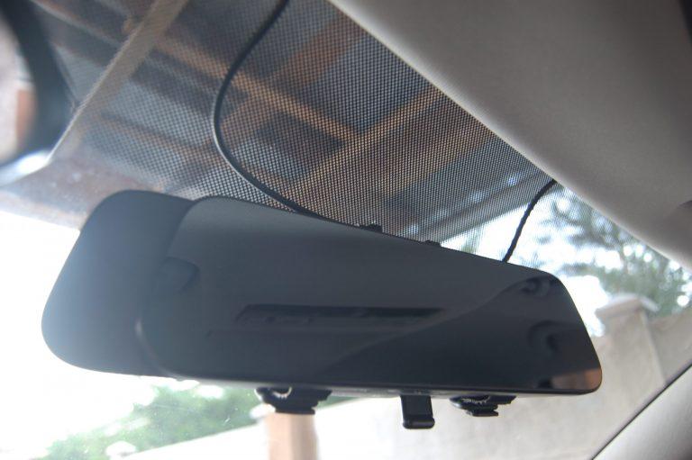 70mai D07 Rearview Dash Cam autóskamera teszt 7