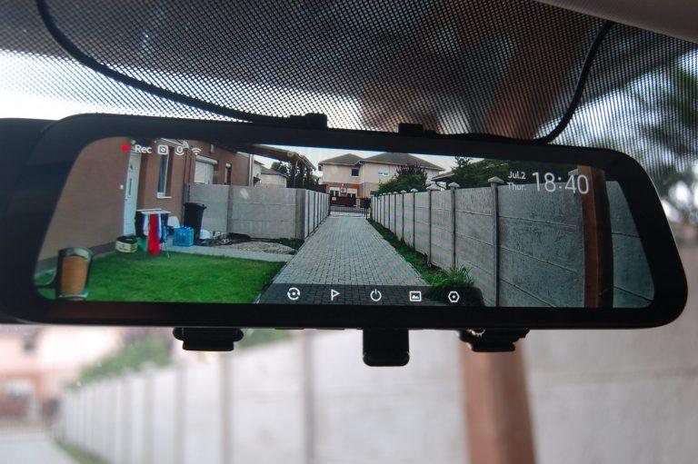 70mai D07 Rearview Dash Cam autóskamera teszt 9