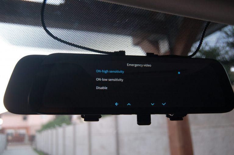 70mai D07 Rearview Dash Cam autóskamera teszt 12