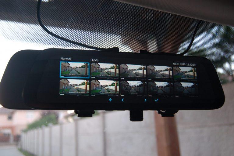 70mai D07 Rearview Dash Cam autóskamera teszt 16