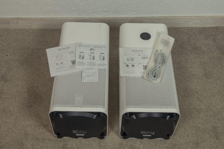 Xiaomi Air Purifer 2H és 3H légtisztítók összehasonlító tesztje 5