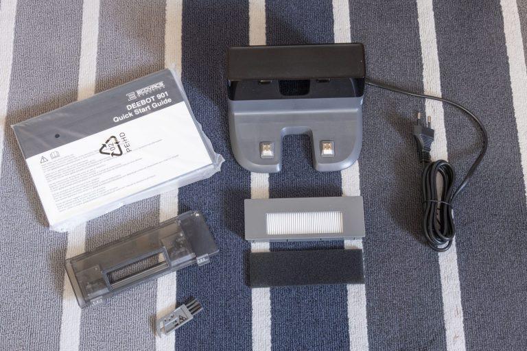 Ecovacs Deebot 901 robotporszívó teszt 4