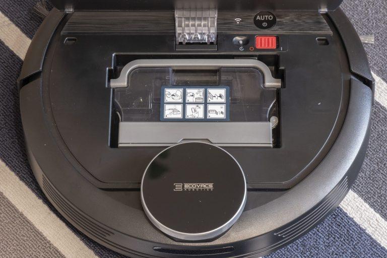 Ecovacs Deebot 901 robotporszívó teszt 7