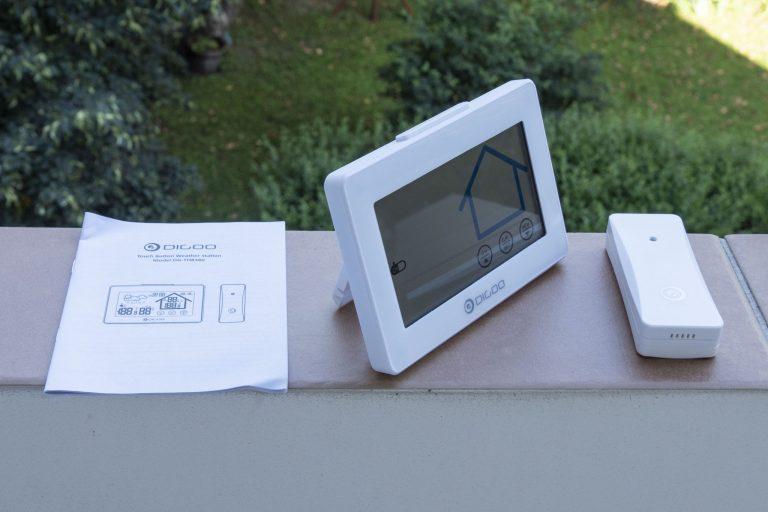 Digoo DG-TH8380 időjárás állomás teszt 3