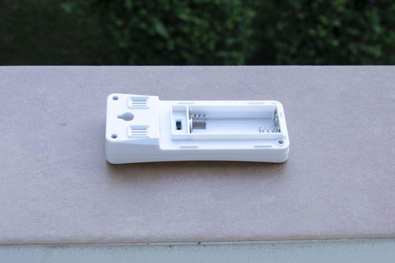 Digoo DG-TH8380 időjárás állomás teszt 7