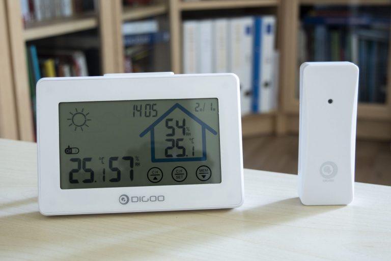 Digoo DG-TH8380 időjárás állomás teszt 9