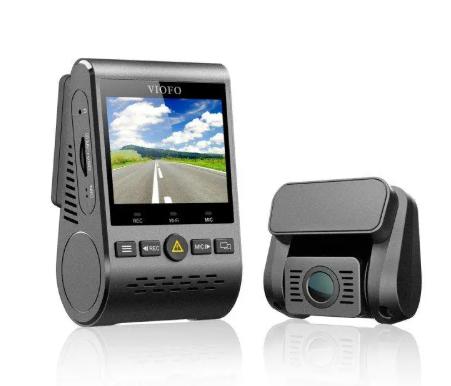 Viofo A129 autóskamera akcióban 2