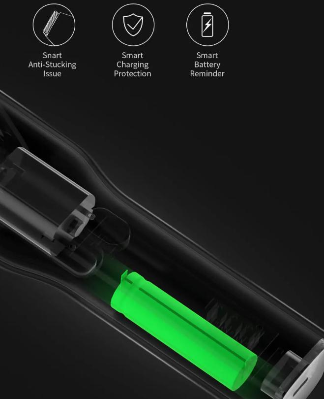 Akksis Xiaomi hajvágógép gombokért 6