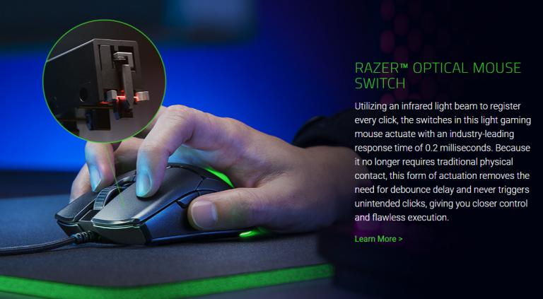 Razer Viper Mini egér még mindig az itthoni ár töredékéért 3