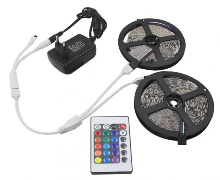 10 méter RGB LED szalag kiemelkedően alacsony áron 3