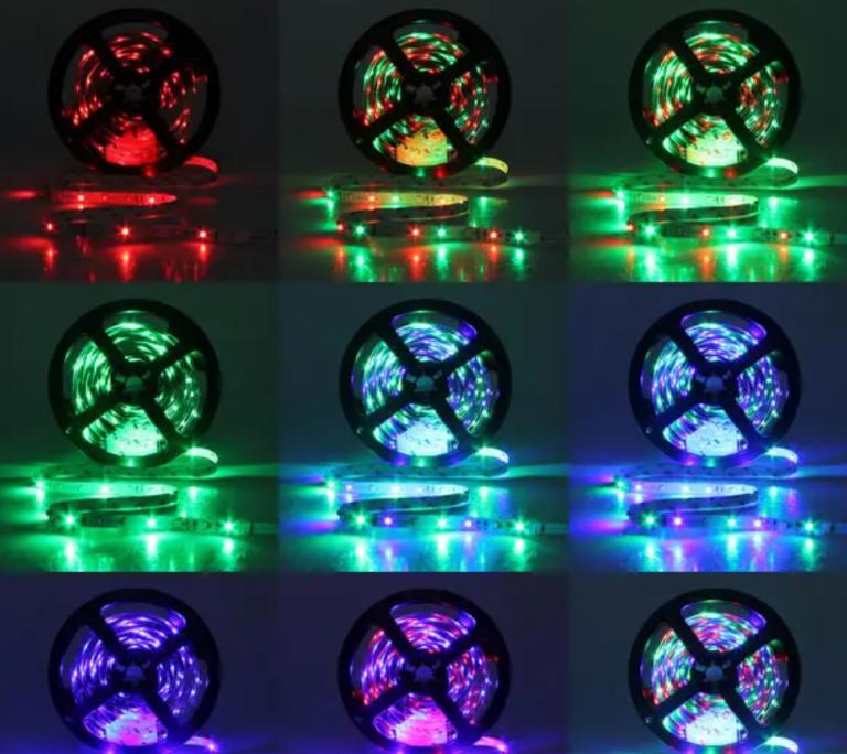 10 méter RGB LED szalag kiemelkedően alacsony áron 2