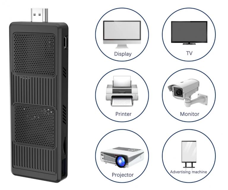 Minisforum mini PC, TV box áron 5