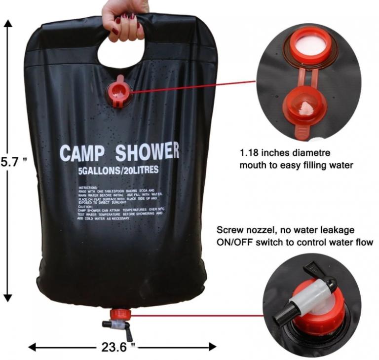 Hogyan zuhanyozzunk a nyaralóban? 5