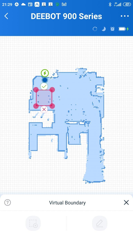 Ecovacs Deebot 901 robotporszívó teszt 20