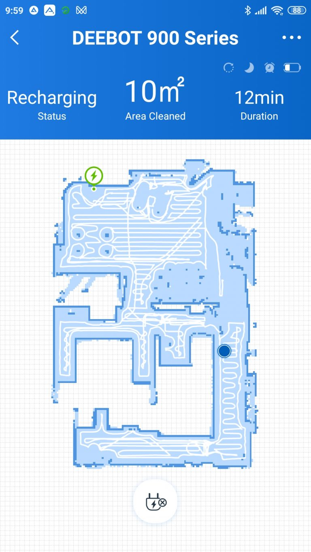 Ecovacs Deebot 901 robotporszívó teszt 29