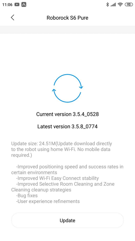 Xiaomi Roborock S6 Pure robotporszívó teszt 29