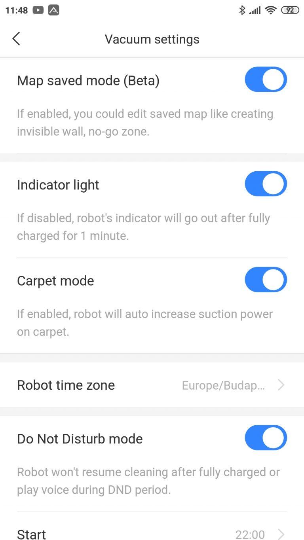 Xiaomi Roborock S6 Pure robotporszívó teszt 28