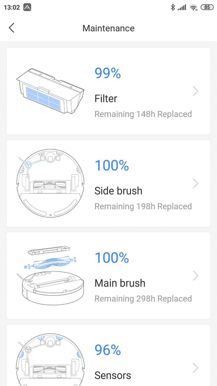 Xiaomi Roborock S6 Pure robotporszívó teszt 18