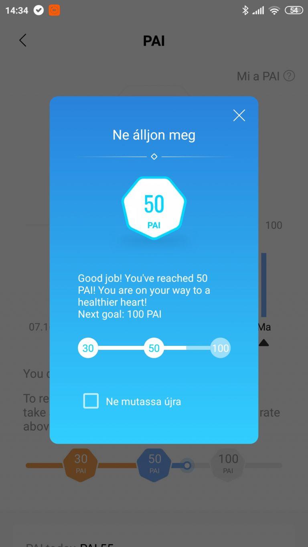 Xiaomi Mi Band 5 aktivitásmérő teszt 28