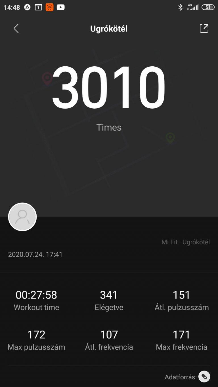Xiaomi Mi Band 5 aktivitásmérő teszt 32