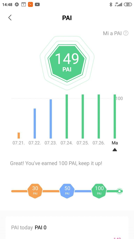 Xiaomi Mi Band 5 aktivitásmérő teszt 29