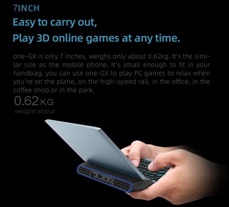 One Netbook OneGx1: izmos gamer gép a Geekbuyingtól 3