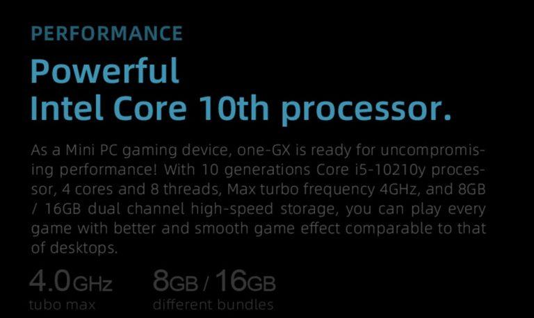 One Netbook OneGx1: izmos gamer gép a Geekbuyingtól 10