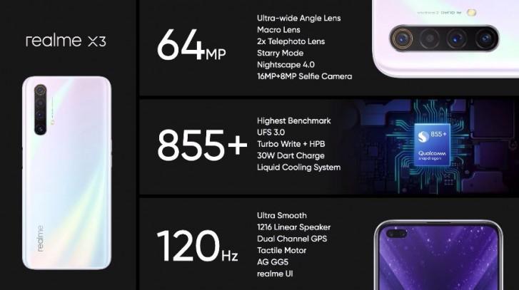 Realme X3 okostelefon 3