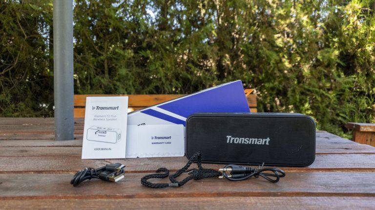Tronsmart T2 Plus Bluetooth hangszóró teszt 3