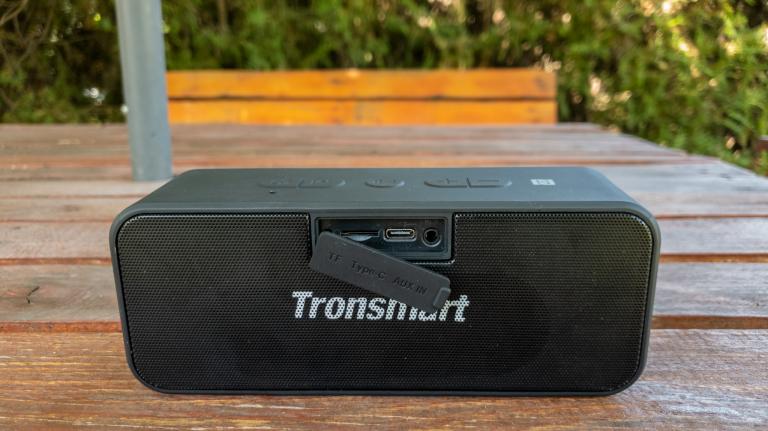 Tronsmart T2 Plus Bluetooth hangszóró teszt 8