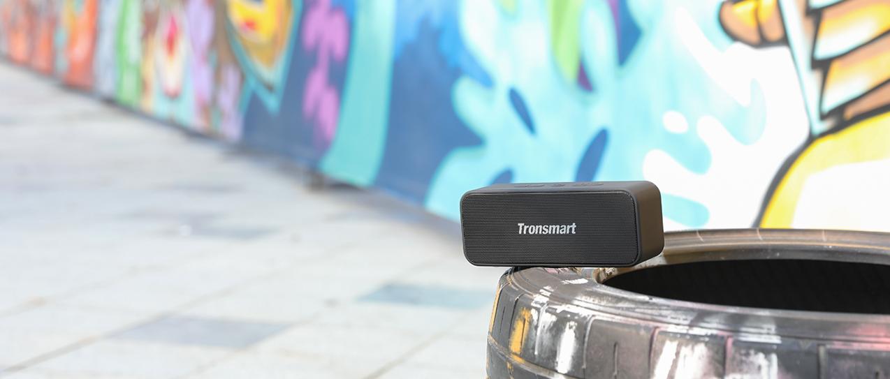 Tronsmart T2 Plus Bluetooth hangszóró teszt 11
