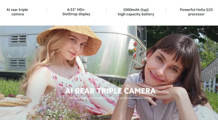 Új, olcsó Xiaomi mobil érkezett – itt a Redmi 9C 6