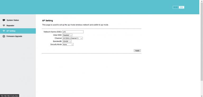 MechZone WiFi jelismétlő teszt 11