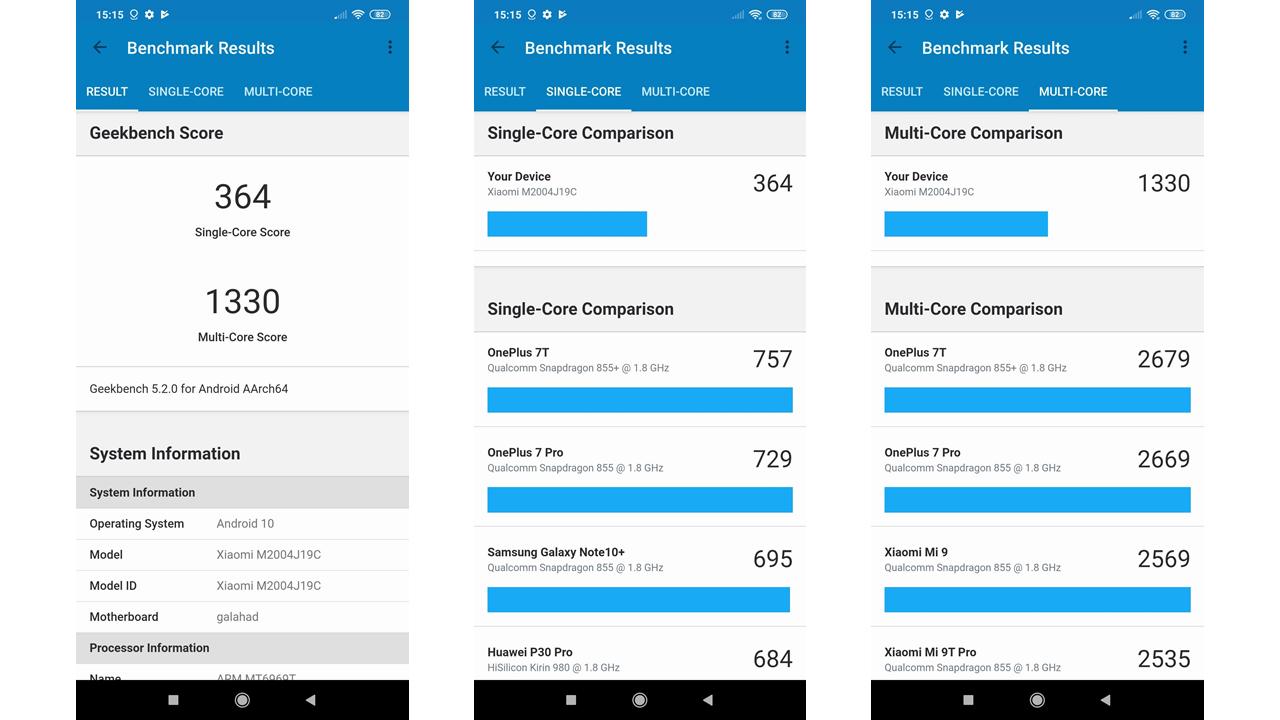 Xiaomi Redmi 9 okostelefon teszt 13