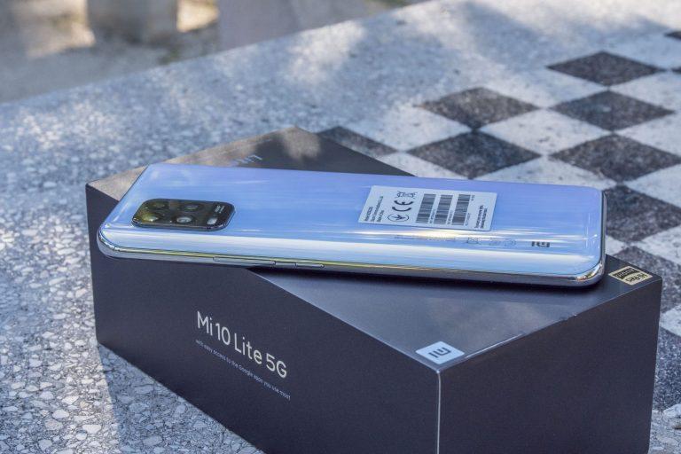 Xiaomi Mi 10 Lite okostelefon teszt 9