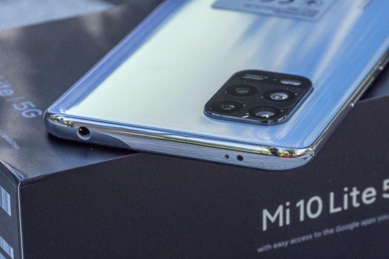 Xiaomi Mi 10 Lite okostelefon teszt 11