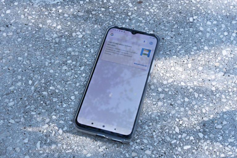 Xiaomi Mi 10 Lite okostelefon teszt 13