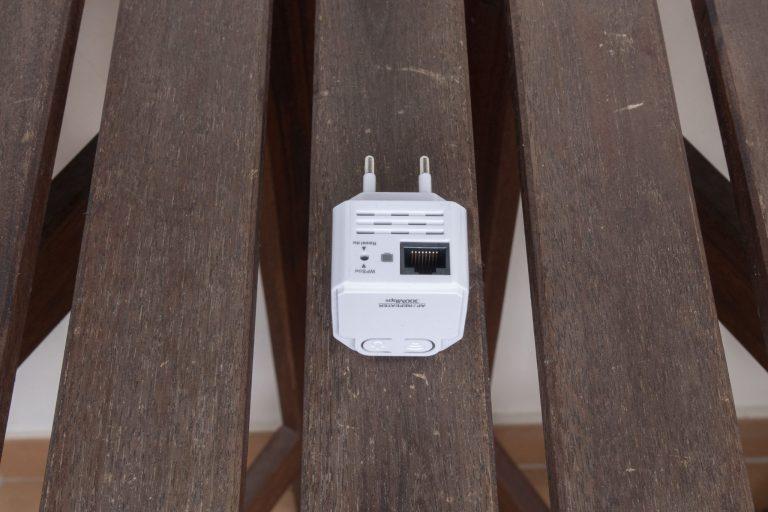 MechZone WiFi jelismétlő teszt 4