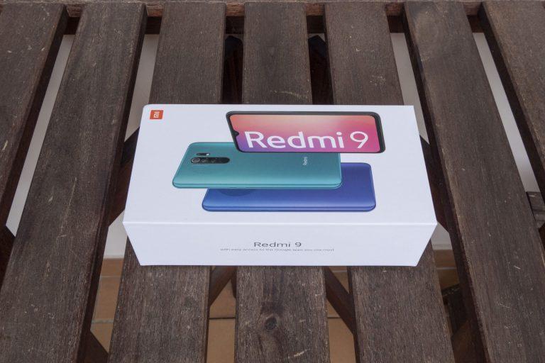 Xiaomi Redmi 9 okostelefon teszt 2