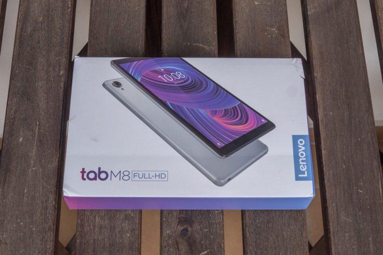 Lenovo Tab M8 Full HD tablet teszt 2
